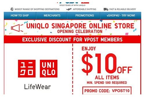 uniqlo online coupon singapore
