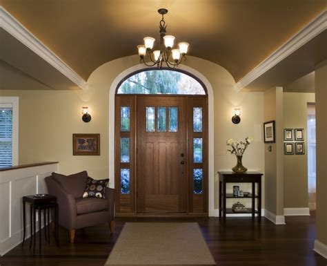 vaulted foyer barrel vault foyer renovation contemporary entry