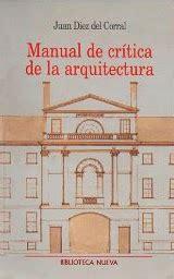 2 critica de la manual de critica de la arquitectura