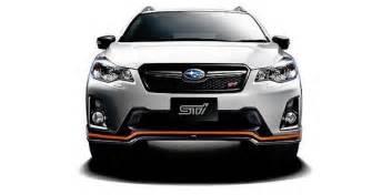Subaru Crosstrek Sti Forbidden Fruit 2017 Subaru Xv Hybrid Ts By Sti Torque News