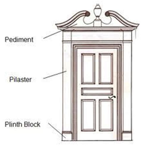 colonial door trim 20 best images about front doors on pinterest red front