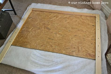 where to buy batting for headboard our vintage home love upholstered headboard tutorial