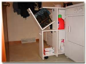 Laundry Room Storage Between Washer And Dryer Build A Storage Box Washer Dryer Underneath Allow For Easy Sliding Between The Washer
