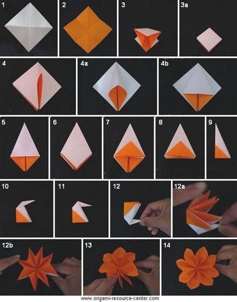 Beginner Origami Flowers - origami flower will learn this