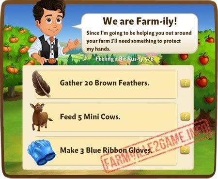 farmville 2 feeling a bit rus ty quests   farmville 2 info