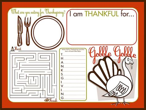 printable blank thanksgiving cards thanksgiving free printables place cards food labels
