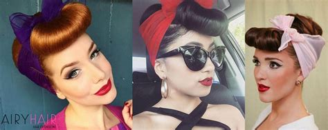 Pin Up Hairstyles by 3 Stunning Rockabilly Or Pinup Hairstyles