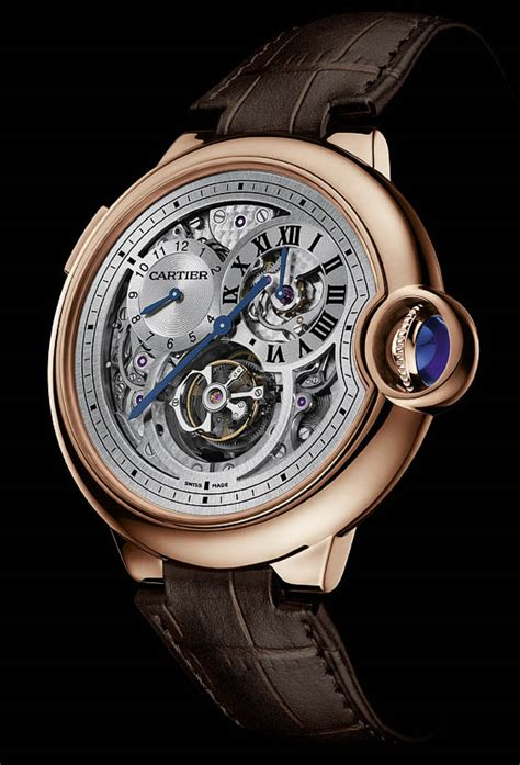Lv 01 Rosegold Limited sihh 2013 preview cartier ballon bleu tourbillon