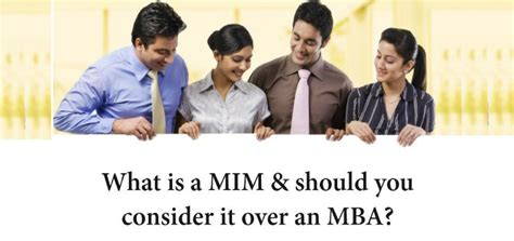 Should A Cpa Get An Mba by What Is A Mim Should You Consider It An Mba