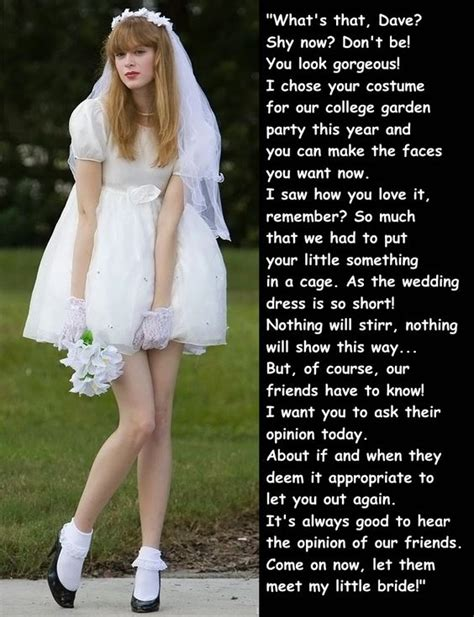 boy becomes bride caption boys who became girls tg captions brides pinterest