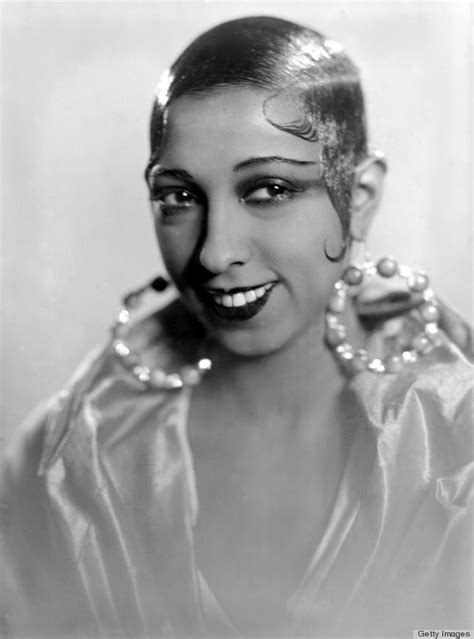 hairstyle for early 20s josephine baker from the bygone