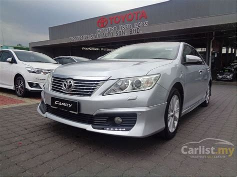 Camry V 2 5 At 2013 toyota camry 2013 v 2 5 in selangor automatic sedan silver