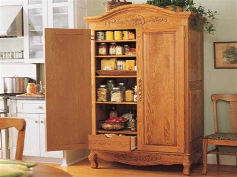 Free Standing Kitchen Storage Cabinets by 1000 Ideas About Free Standing Pantry On Pinterest