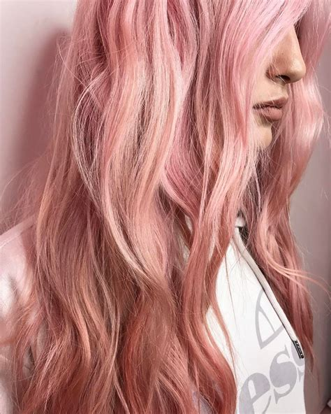 rose gold blonde hair color 20 rose gold hair color ideas tips how to dye salon