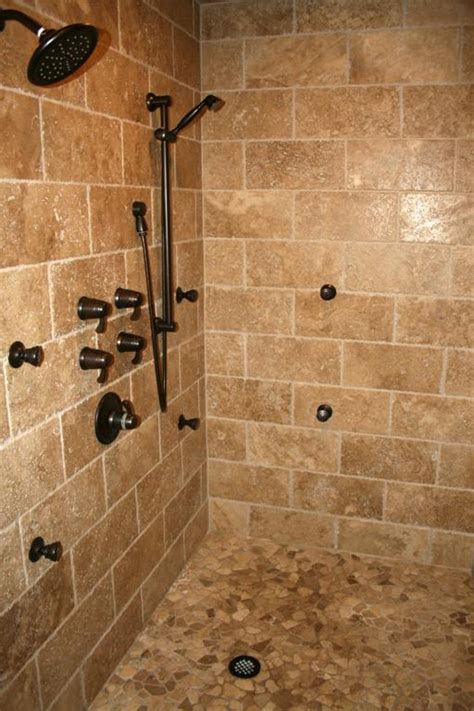 How To Install A Tile Backsplash In Kitchen by Tile Showers Photos Here S A Tile Shower Design With A