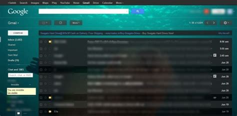 themes for gmail email how to set custom image as gmail background