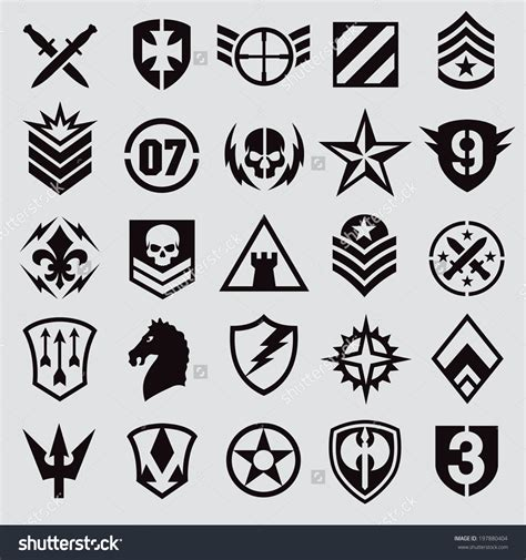 Black Tag White Patch Army Ready Stock icons and symbols free icons