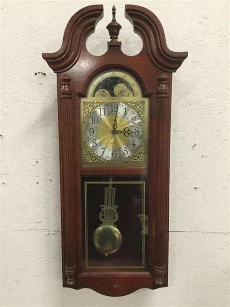 howard miller dual chime clock howard miller dual chime electric wall clock in cond