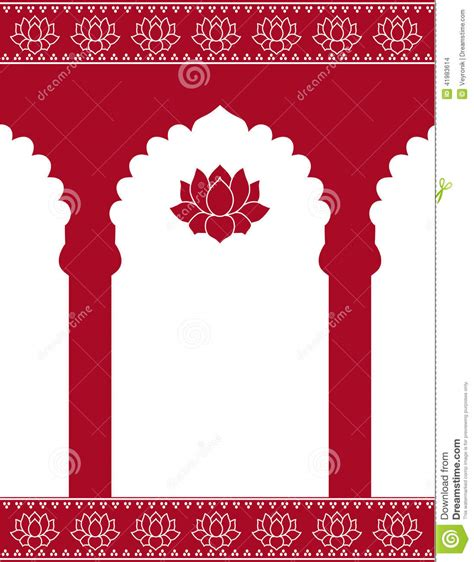 Wedding Gate Background by Indian Gate Background Stock Vector Illustration Of