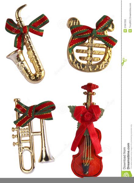 christmas instrument clipart  images  clkercom vector clip art  royalty