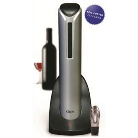 pro electric wine bottle opener with wine pourer stopper