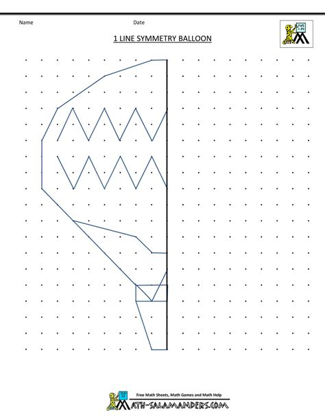 Lines Of Symmetry Worksheets by Symmetry Activities