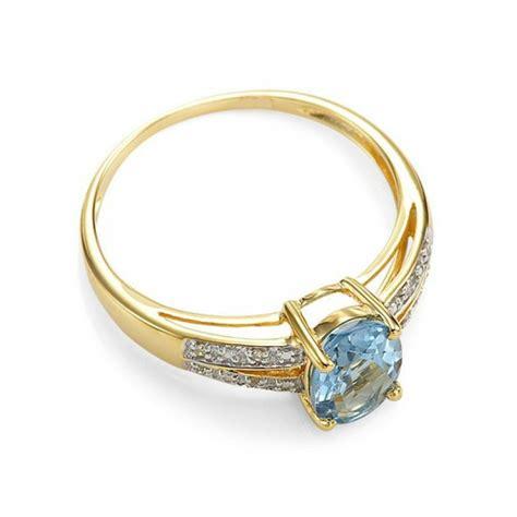 Cincin Wanita Blue Topas Bertahta Berlian harga promo cincin wanita ikat gold filled ring