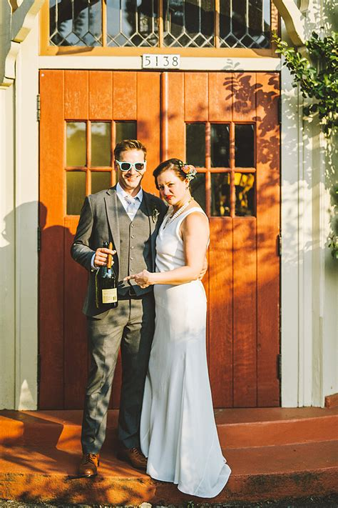 Thorne Smith Marries In Secret Ceremony by Marshall S Secret Society Wedding In Portland Or