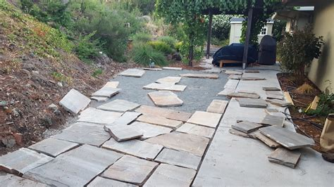 Diy Flagstone Patio Ideas Weekend Project Diy Flagstone Patio The Distilled