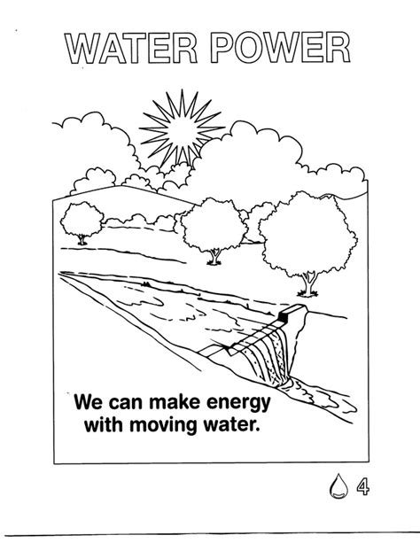 Coloring Pages   Energy for Kids!