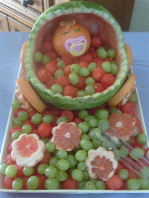 Fruit Baskets For Baby Showers With Watermelon by Watermelon Baby Carriage 2 By Red4316 Deviantart