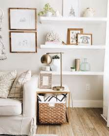 decorating shelves in living room 25 best ideas about white wall shelves on pinterest corner wall shelves decorating wall