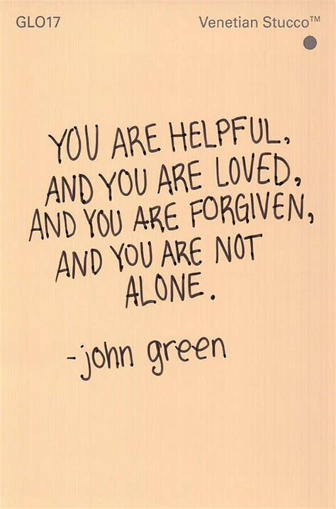 you are not alone inspirational christian videos troy black youtube john green quotes 20 awesome photo quotes from photo quotes john green and awesome