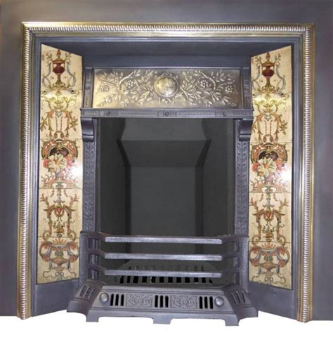 Fireplaces For Sale Uk by Antique Cast Iron Tiled Inserts For Sale By Britain S Heritage