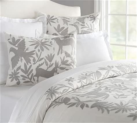 mexican embroidered bedding beautiful otomi embroidered duvet cover too bad pottery