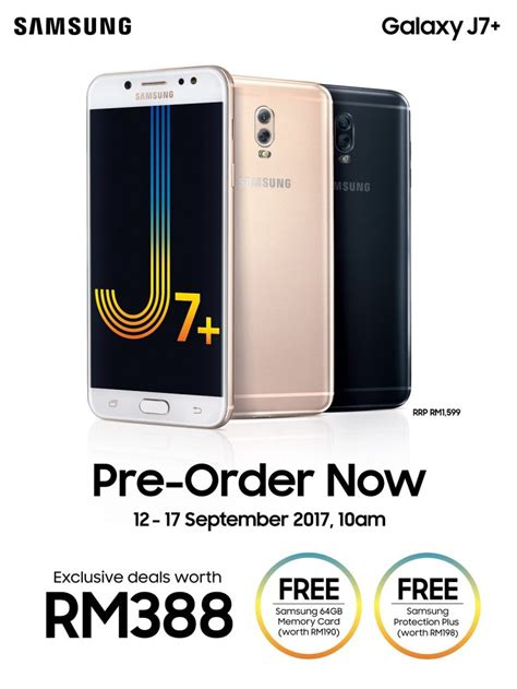 Samsung J7 Crown Samsung Galaxy J7 Open For Pre Order In Malaysia At Rm1