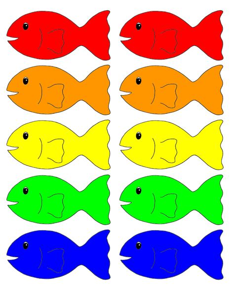 fish colors my homeschool printables 187 go fish