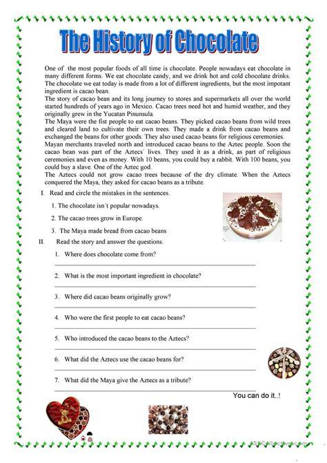 reading comprehension test doc reading comprehension worksheet free esl printable