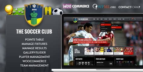 drupal soccer theme soccer club sports and events news theme by pixfill