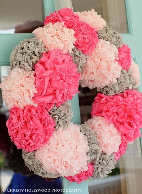 Decorating With Tissue Paper Flowers by 25 Unique Tissue Paper Wreaths Ideas On