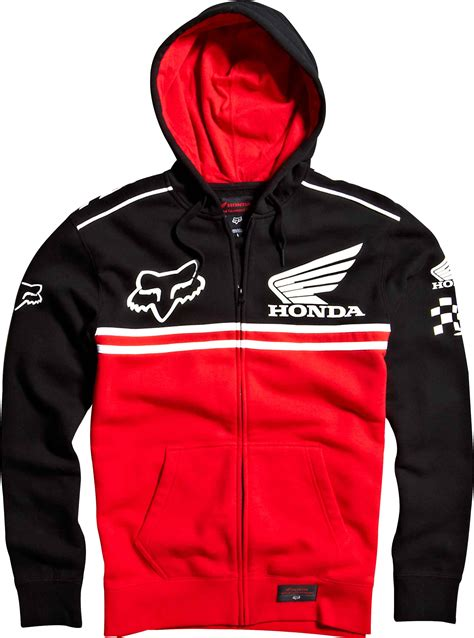 Hoodie Sweater Jaket Anak Fox Racing Logo fox 2014 honda race zip hoody bto sports