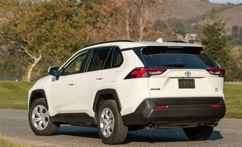 2019 toyota rav4 pricing – new crossover has a broad