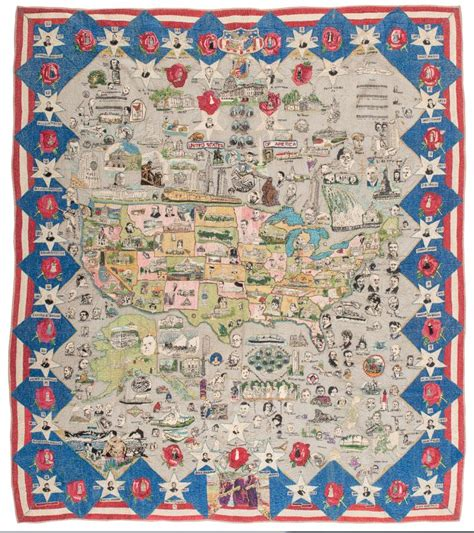 History Of The Quilt by Quilts American History Quilt 1937
