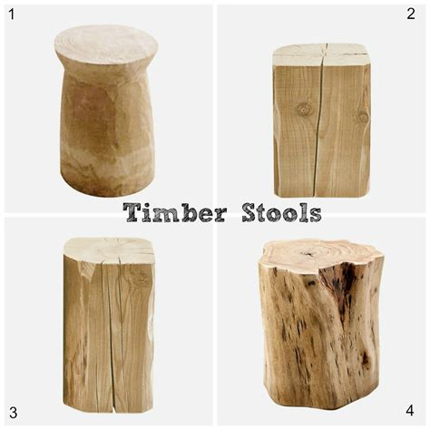Timber Stool by Comfortable Furniture Timber Stools
