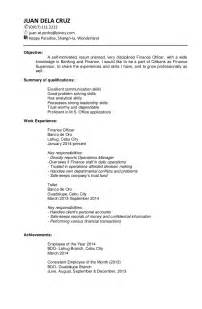 Targeted Resume Template by Sle Targeted Resume