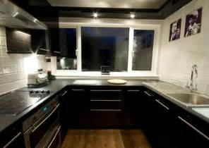 gloss kitchen tile ideas black kitchen floor tiles feel the home