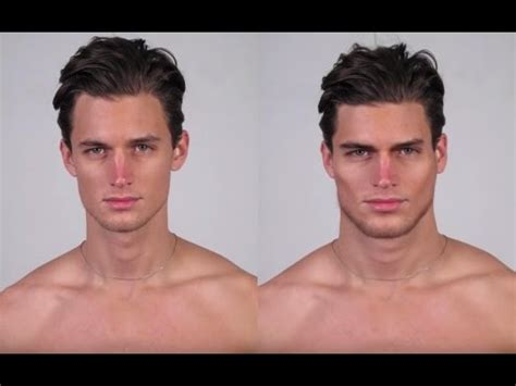 making a male face more masculine speed morphing youtube