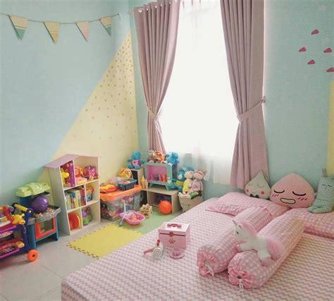 desain kamar perempuan sederhana ide dekorasi dinding kamar anak perempuan cewek dekorasi