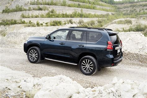 land cruiser off toyota land cruiser prado refreshed with new looks more