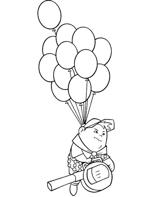 Coloring Page Up House by Up Balloon House Coloring Pages Bell Rehwoldt